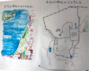 エルサレムの地図